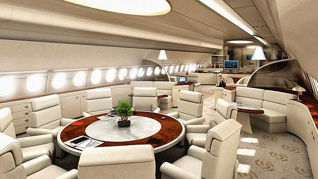 A330 executive jet fit-out